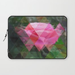 Pink Roses in Anzures 6 Art Triangles 1 Laptop Sleeve
