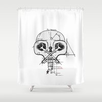 architect Shower Curtains featuring The Architect by Gwen Parker