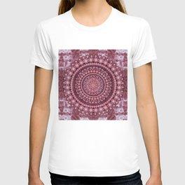 Boho Rosewood Mandala T-shirt