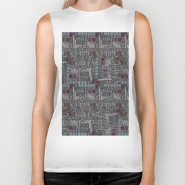 Throw Hersh Like Muse Biker Tank