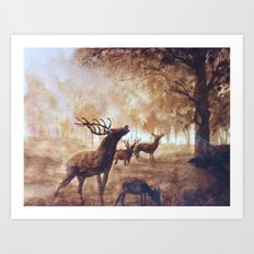 Buck Art Print