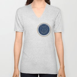 Wolf Seal (preppy collection) Unisex V-Neck
