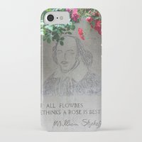 shakespeare iPhone & iPod Cases featuring shakespeare by Danica Nicole