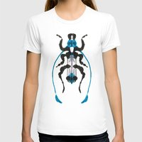 insect T-shirts featuring Inkblot Insect by Lil'h