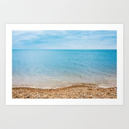 sea sand beach 4 Art Print
