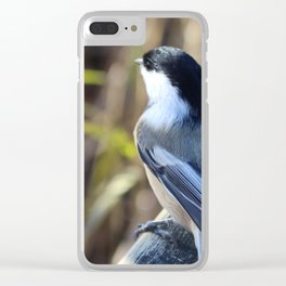 Black-capped Chickadee Clear iPhone Case