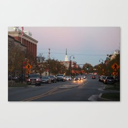 A City Christmas Canvas Print