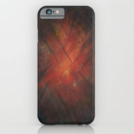 By the Campfire iPhone Case