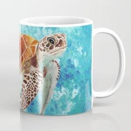 Turtle Swimming Coffee Mug