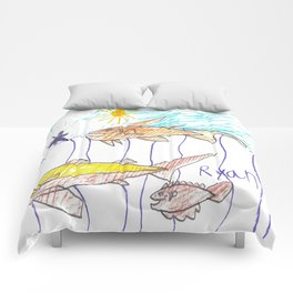 Fish Bait Comforters