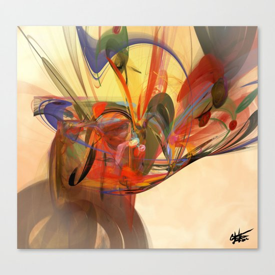 Beautiful Chaos Canvas Print