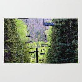 Ski Green Rug