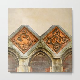 Venetian Architectural Elements Metal Print