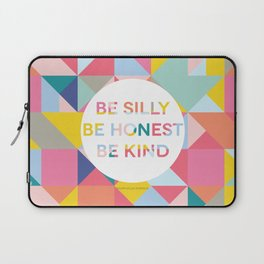 Be Silly Bright & Happy Laptop Sleeve