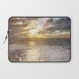 A beautiful sunrise over the ocean. Laptop Sleeve