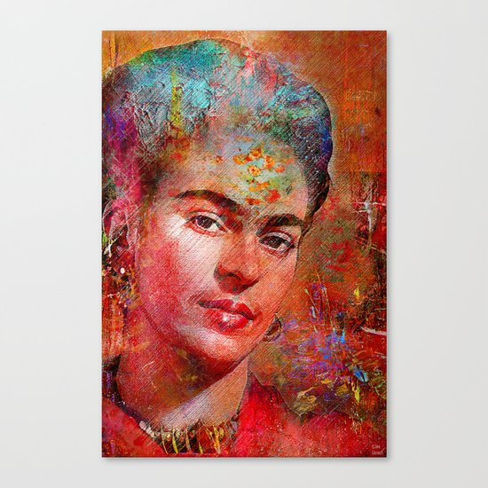 Frida K. Canvas Print