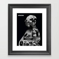 Hitchcock Framed Art Print
