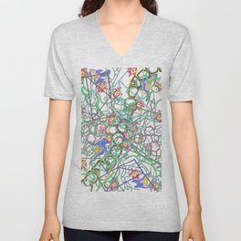 The Pathway Beyond the Gate Unisex V-Neck