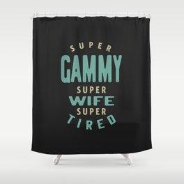 Super Gammy Shower Curtain
