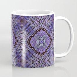 Purple Zen Doodle Pattern Coffee Mug
