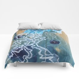 Blue Jelly Comforters