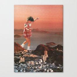 Ipanema Girl Canvas Print