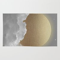 stay gold Area & Throw Rugs featuring Nothing Gold Can Stay (Stay Gold) by soaring anchor designs
