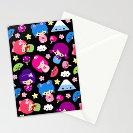 Kawaii Kokeshi J-Pop! Stationery Cards