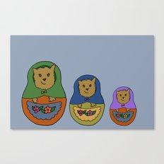 Piptroyshkas Canvas Print