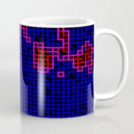 Bleeding Pixels Coffee Mug
