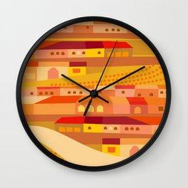 New England Latin Wall Clock