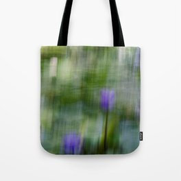 Tropical Impressionism (Purple Water Lily) Tote Bag
