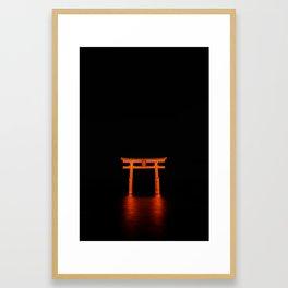shirahige Framed Art Print