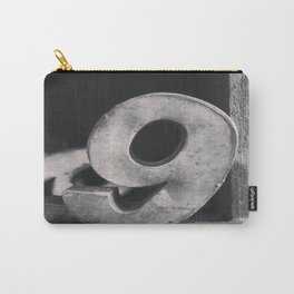 Number Crazy #9 Carry-All Pouch