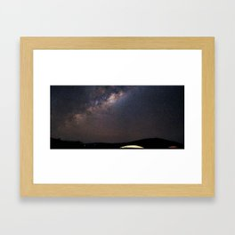 Milky Way in Chile Framed Art Print