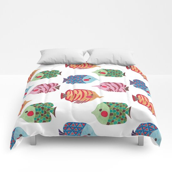 Butterflyfish Comforters