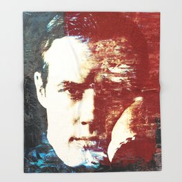 Idols - Marlon Brando Throw Blanket