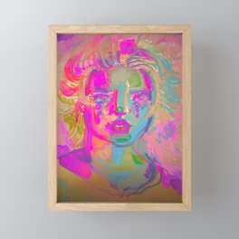 coal mine  Framed Mini Art Print