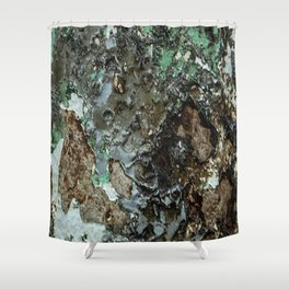 Weathered Iron rustic decor Shower Curtain