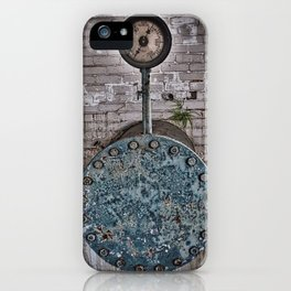 GRITTY LOW PRESSURE iPhone Case