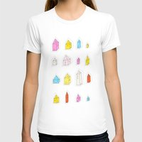 transparent T-shirts featuring Transparent Houses by Judy Kaufmann