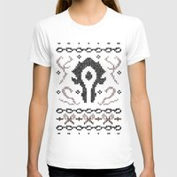 warcraft T-shirts featuring Ugly Sweater 2 by SlothgirlArt