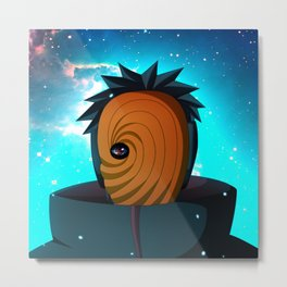 Naruto Obito Uchiha Metal Print