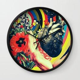 Mending wounds Wall Clock