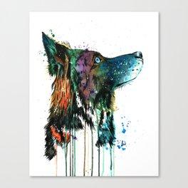 Husky - Anticipation Canvas Print