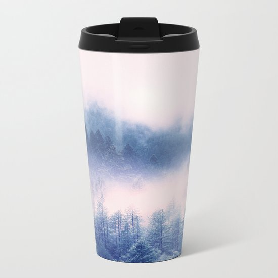 Pastel vibes 03 Metal Travel Mug