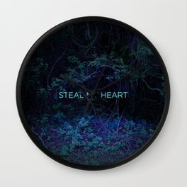 Steal My Heart Wall Clock