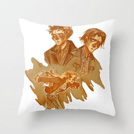 Supernatural early seasons Throw Pillow