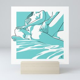 Horny saturday Mini Art Print