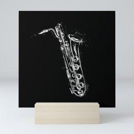 Baritone Saxophone Mini Art Print